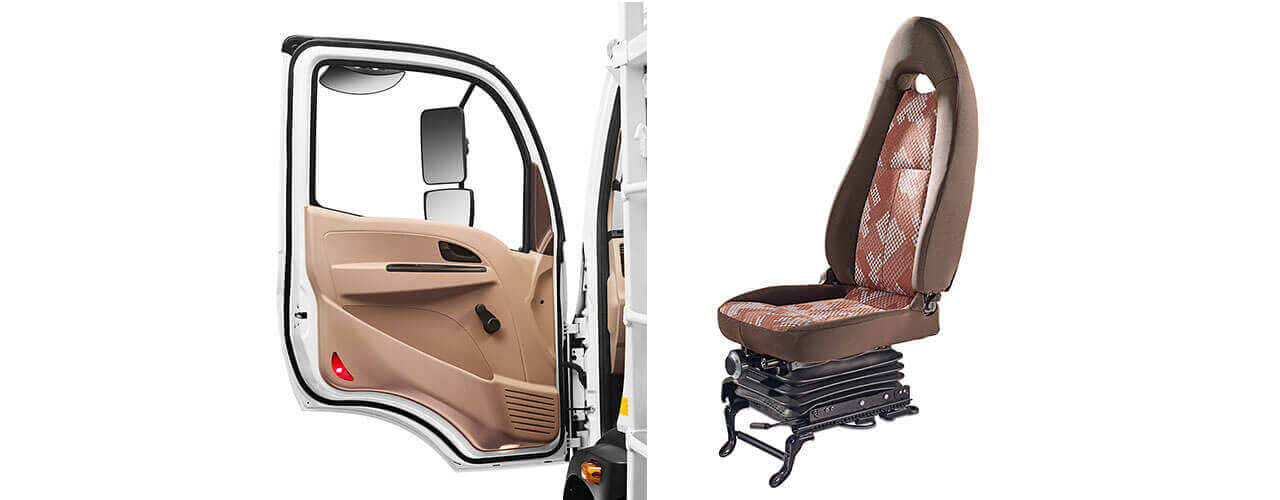 Tata Ultra Truck Seat & Door