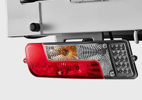 Tata Ultra Truck Tail Lights Small
